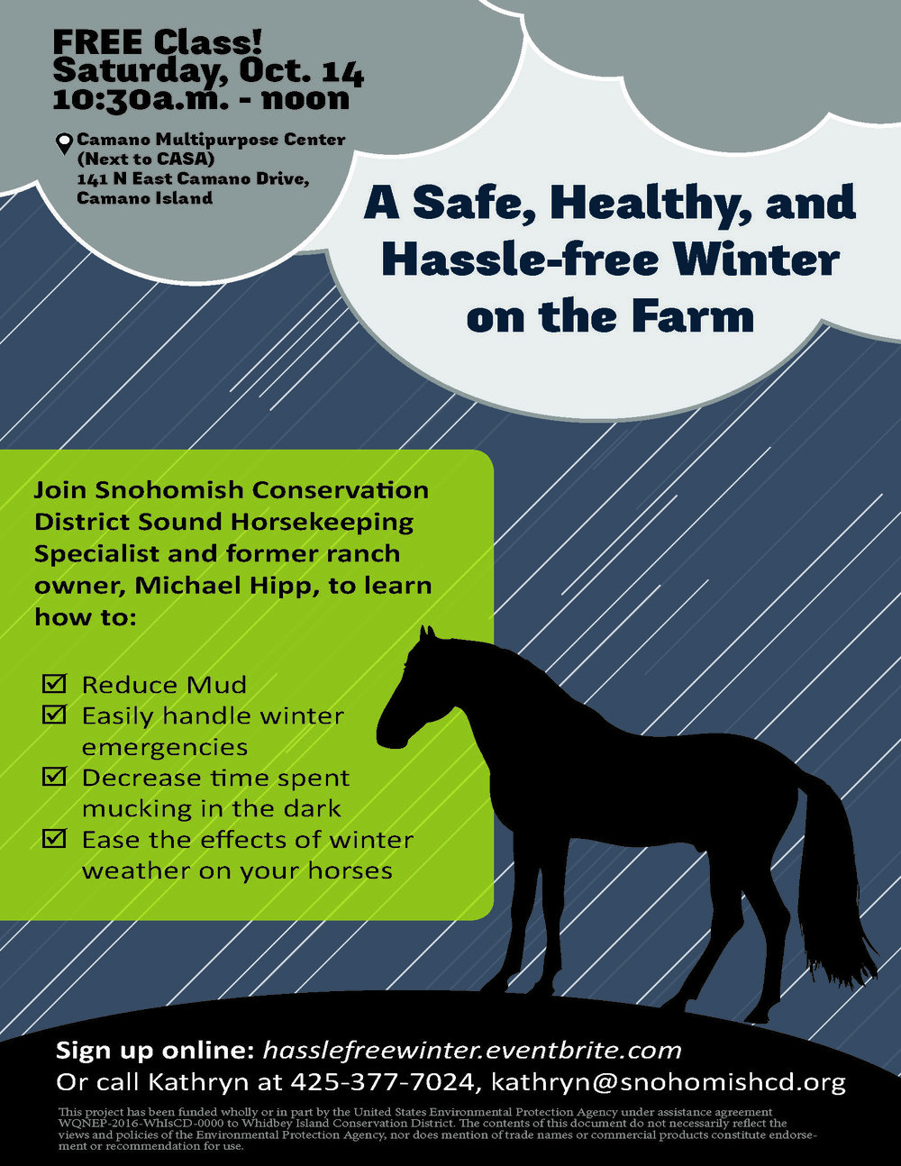 Winter Horse Care Workshop A Safe Healthy And Hassle Free Winter