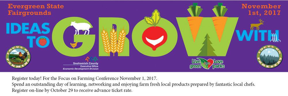 Focus on Farming - November 1, 2017