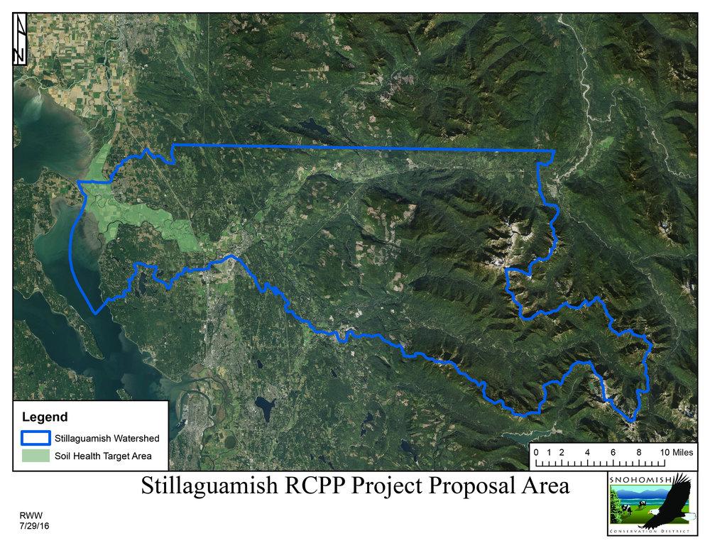 Stillaguamish Map