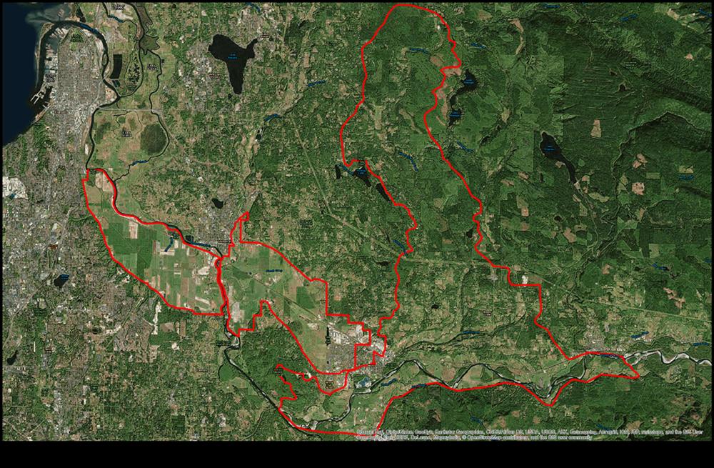 Snohomish map