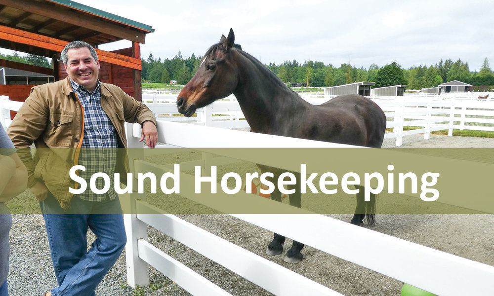 Sound Horsekeeping Program Button