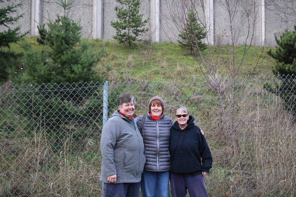Katrina, Donna and Kelly, Riverside Neighbors
