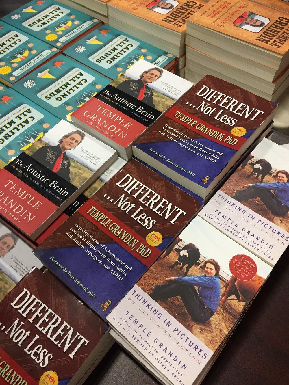 Dr. Temple Grandin's Books