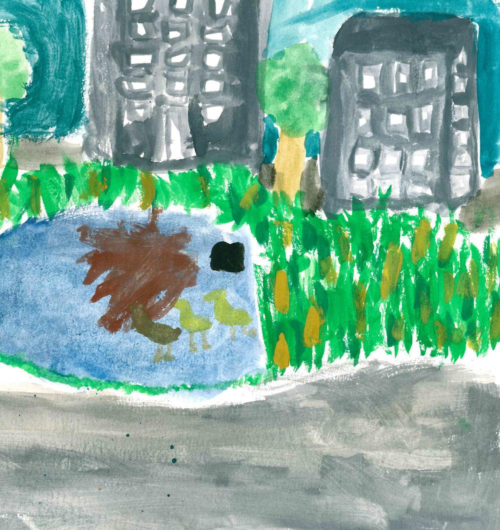 Sanctuary by Gigi Hulbert - 2nd Place - Grades 3-5