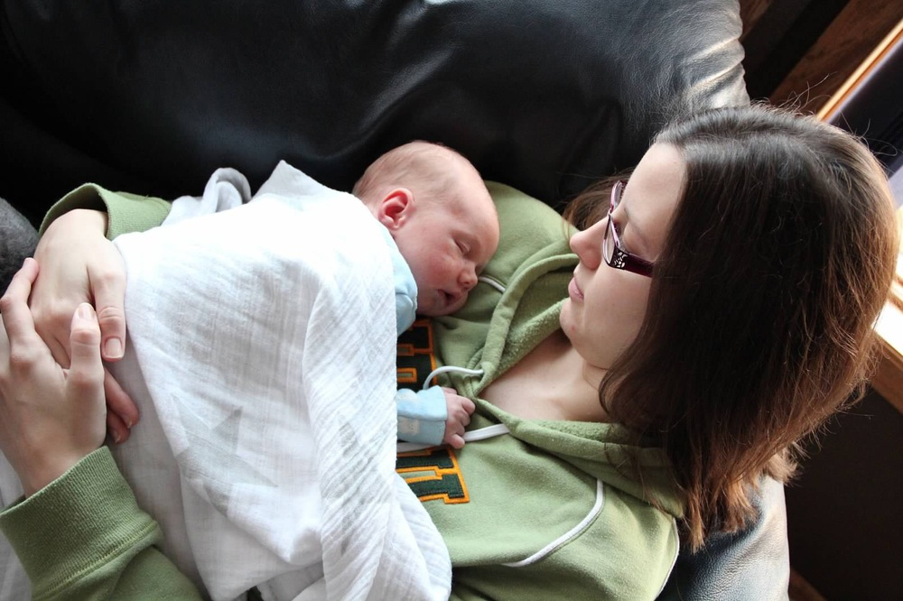 Me and my baby in 2012. So long ago when that little brain, body, and being needed me so much.