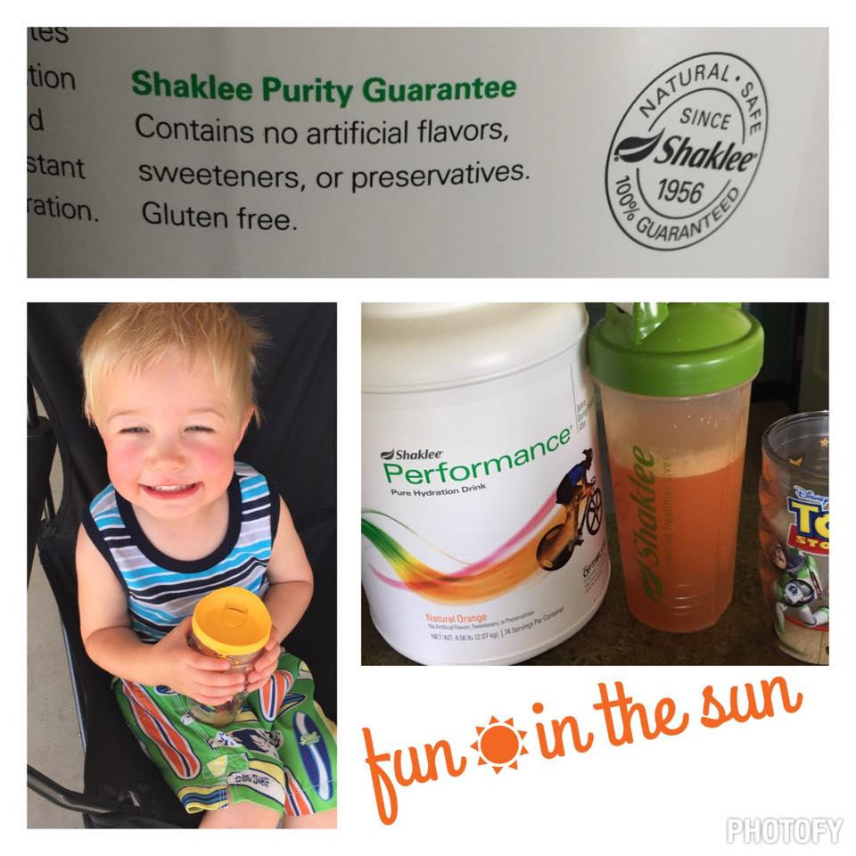 The whole family loves Performance! Great for hot days, during workouts, and when this preggo momma wants something other than water!