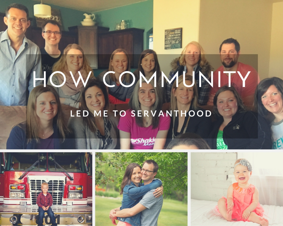 how community led me to servanthood