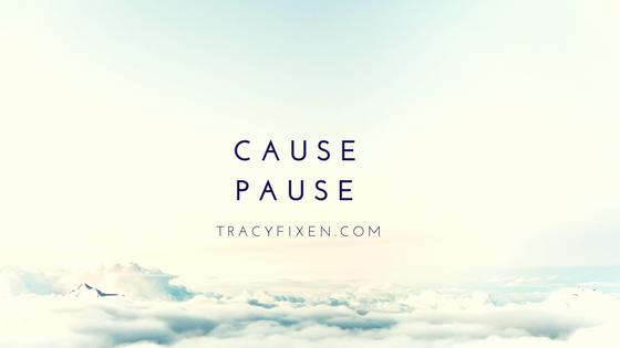 cause-pause