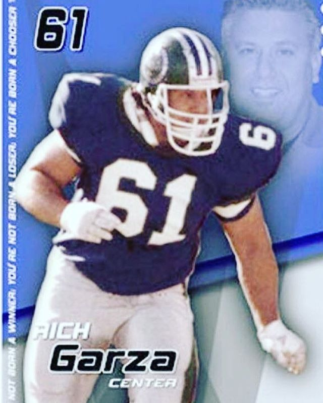 Be sure to join us tonight @ 7:00 p.m. to hear Rich Garza a former offensive lineman with Denver Broncos and Philadelphia Eagles of the NFL as he brings a motivational message.  Bring a friend, this is a special opportunity!!🏈🔥