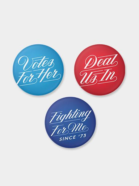 Hillary for America Buttons