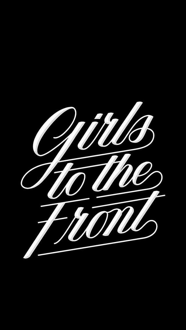 Girls to the Front Lockscreen
