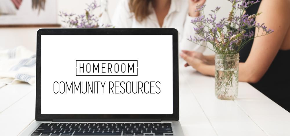 homeroom-community-resources