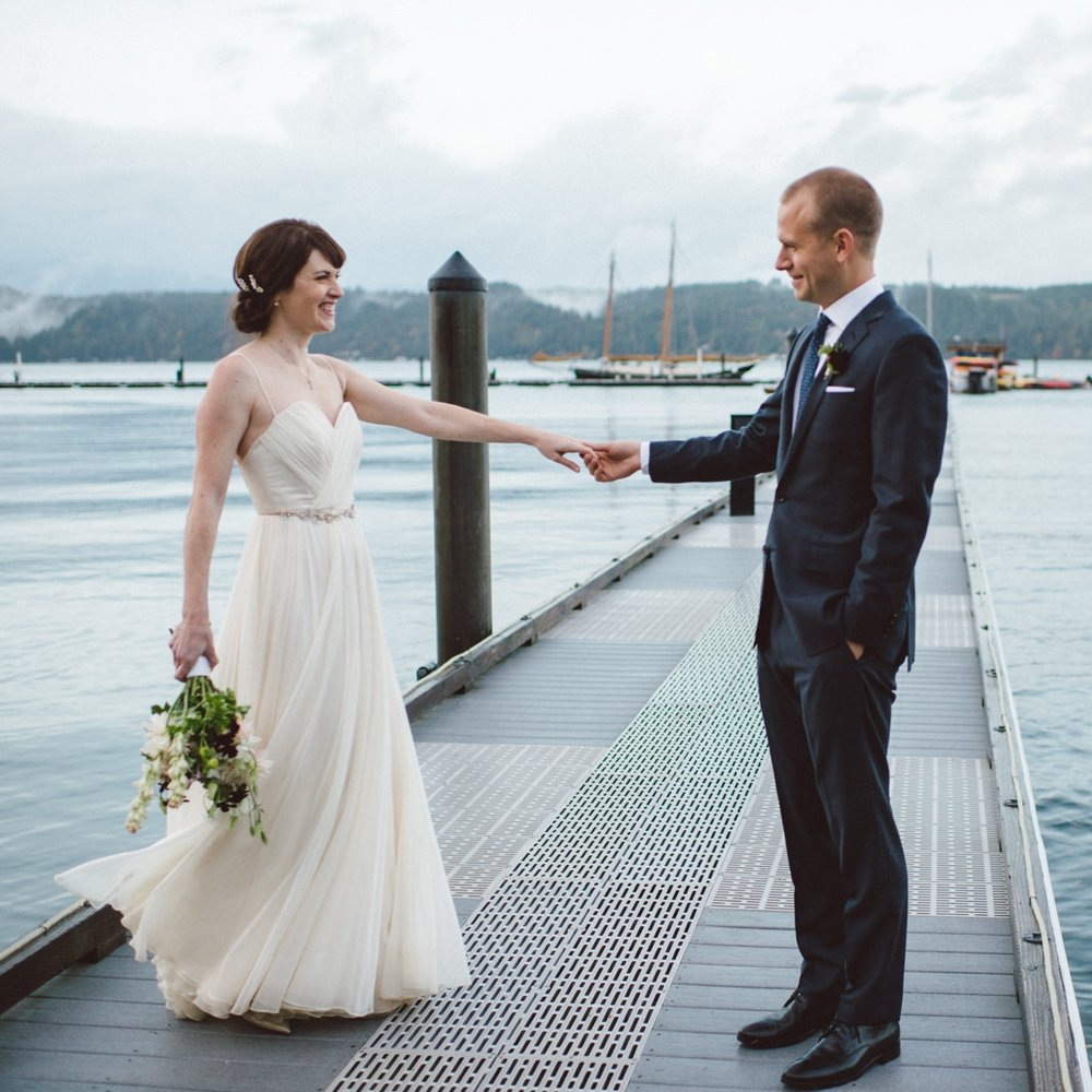 MK + Robin: Alderbrook Resort, WA Wedding