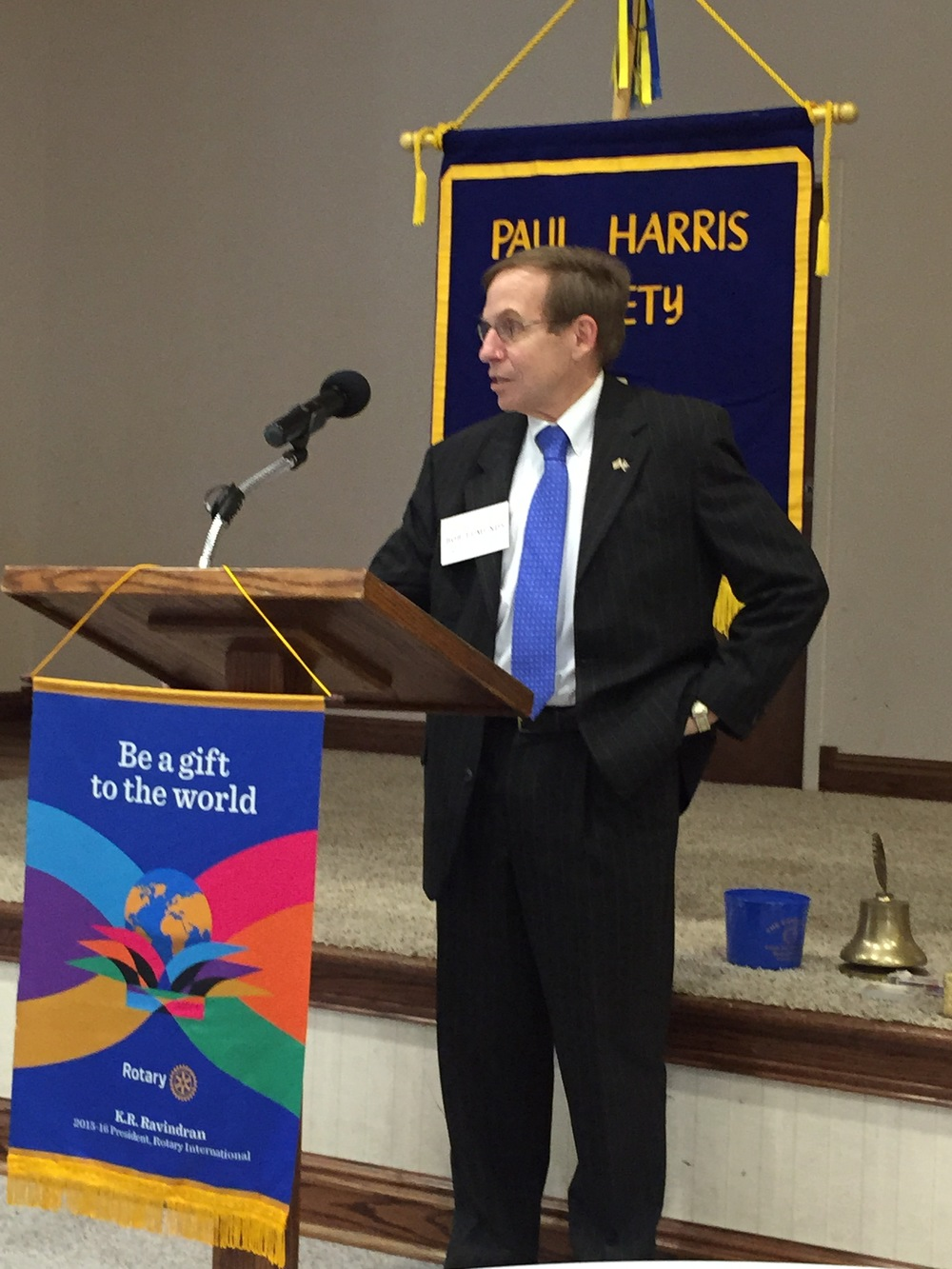 Justice Edmunds Justice Edmunds speaking to Siler City Rotary, 21 September 2015.