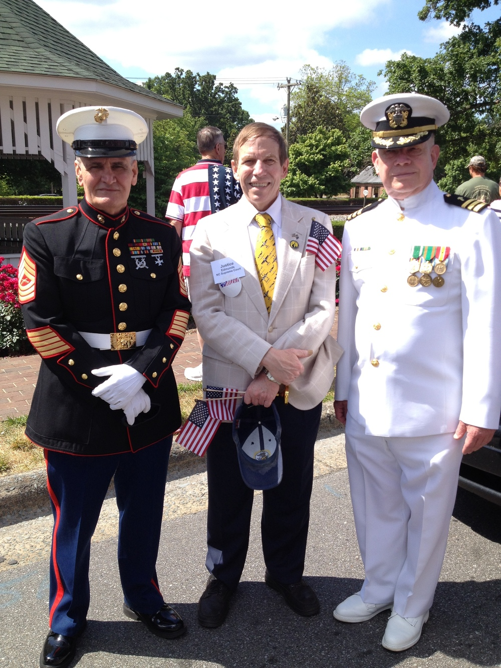 At the Thomasville, N.C. Memorial Day Parade 2015