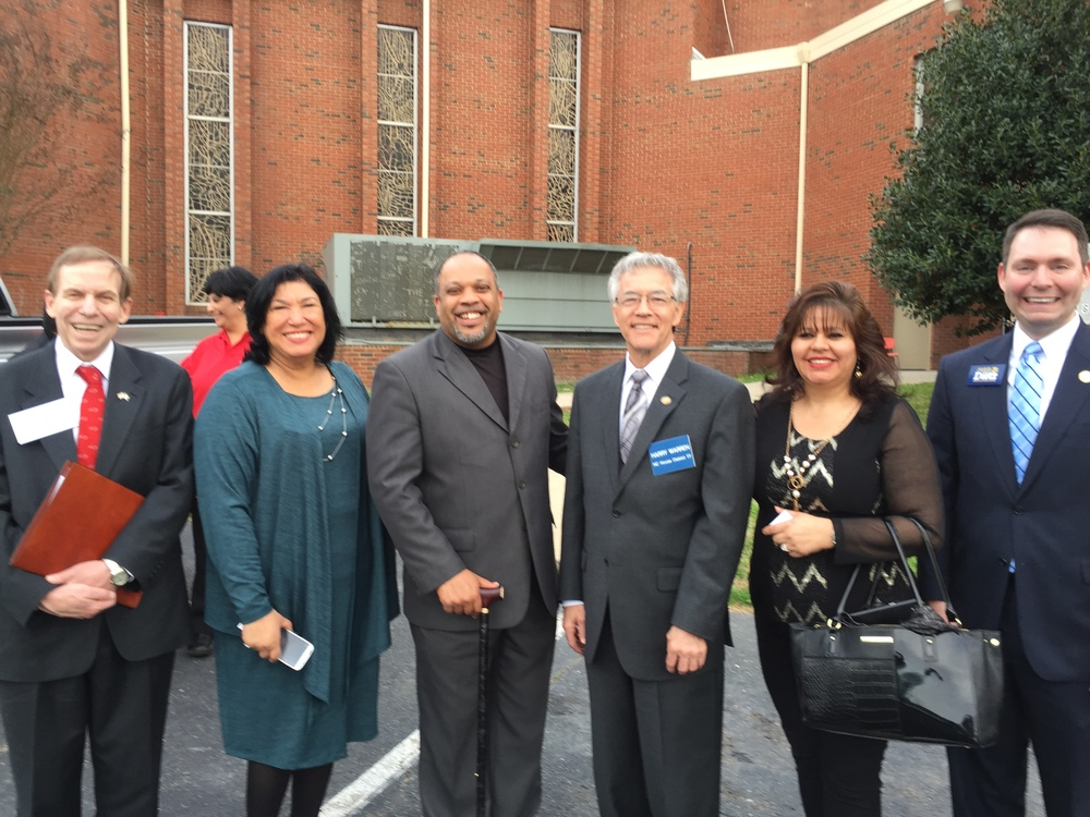 Addressing Leaderes Comunidad of North Carolina, Charlotte, March 14, 2016.