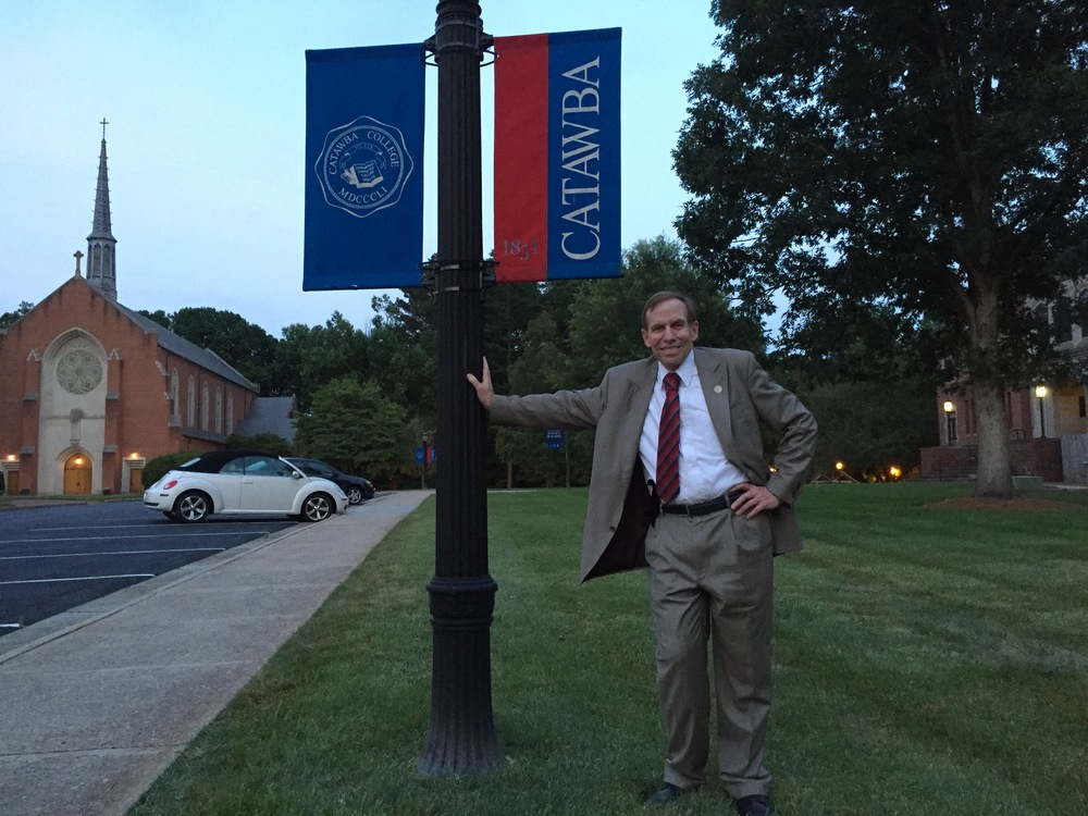 Visiting campus of Catawba College, June 22, 2016.
