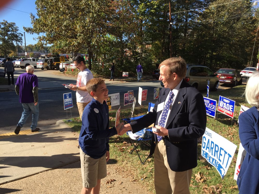 At early voting in Greensboro, November 5, 2016.