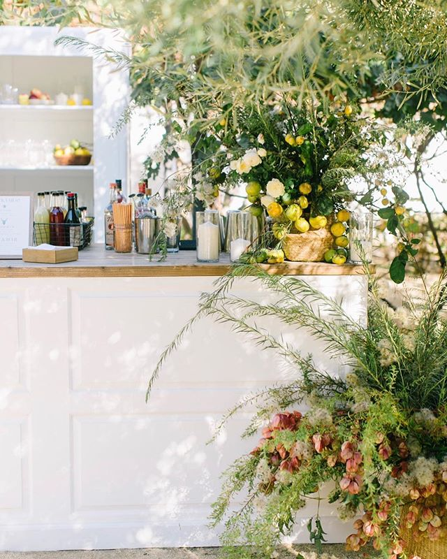 how every bar should be adorned 🌿@isaisafloral knows how we like it @bashplease