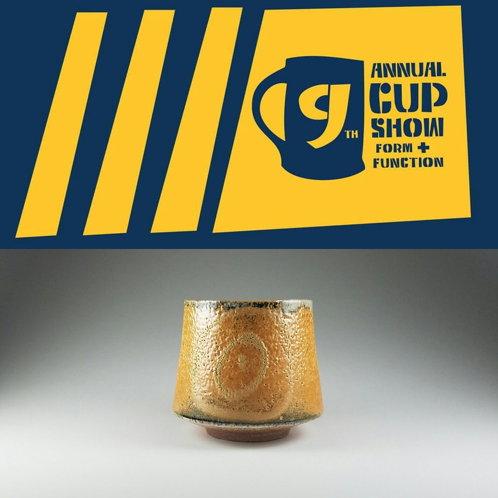 Ninth Annual Cup Show: Form and Function at Amelia Center Gallery October 3 - October 21