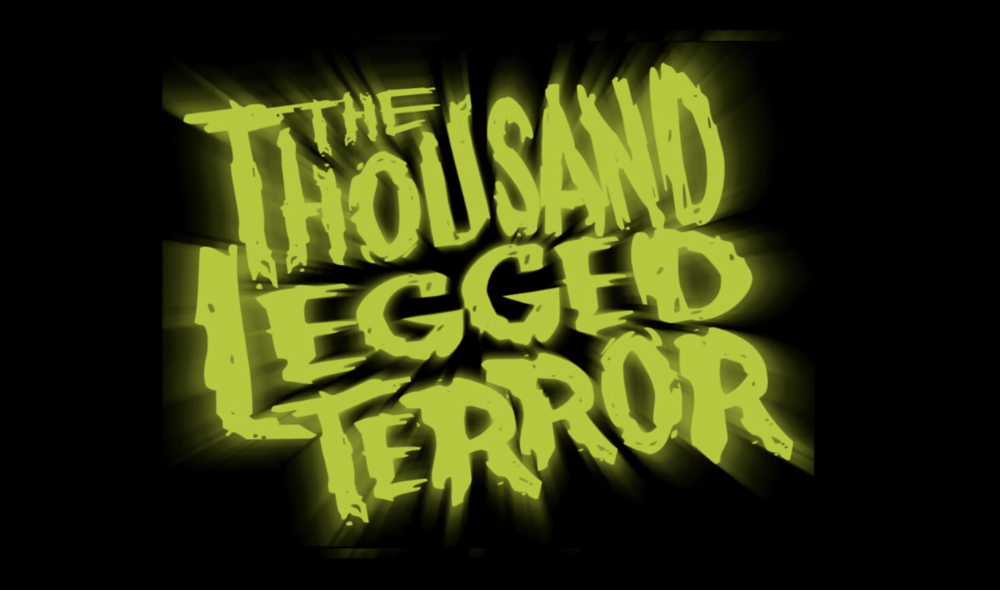 thousand legged terror poster franky films