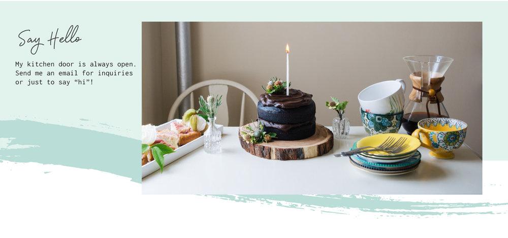 Cake Life Say Hello