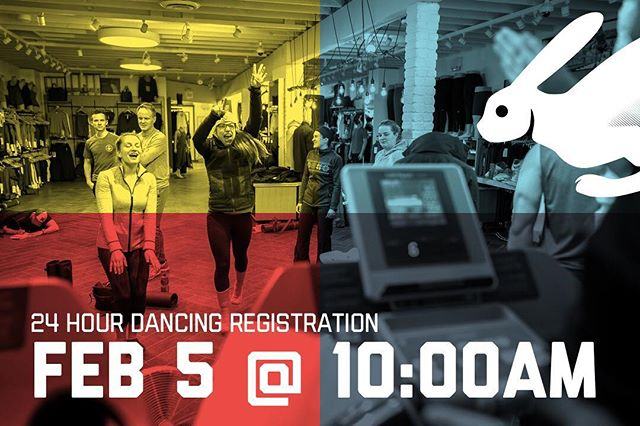 Attention hotsteppers — register for Edmonton's best dance party February 5th at 10AM #RCR24H #NahNaNaNaNaNah