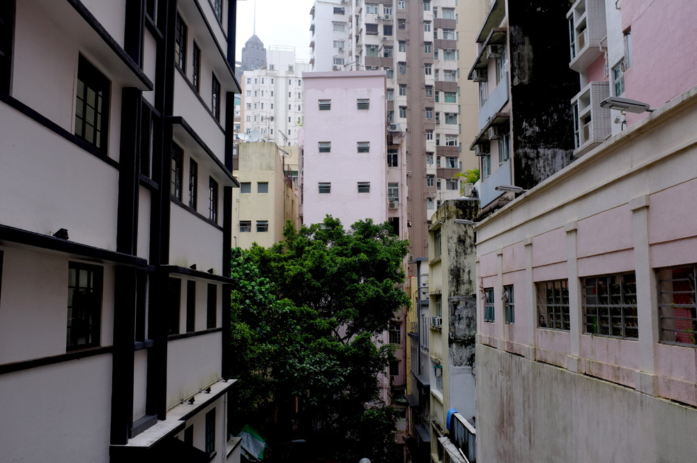 Apartment buildings in Wan Chai