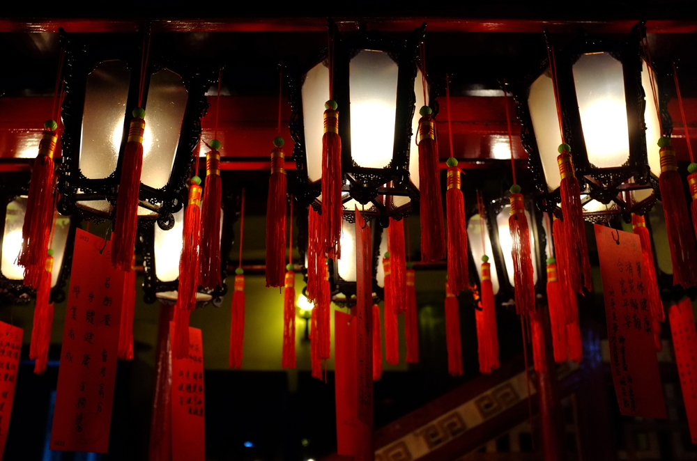 Lanterns, Man Mo Temple, Sheung Wan