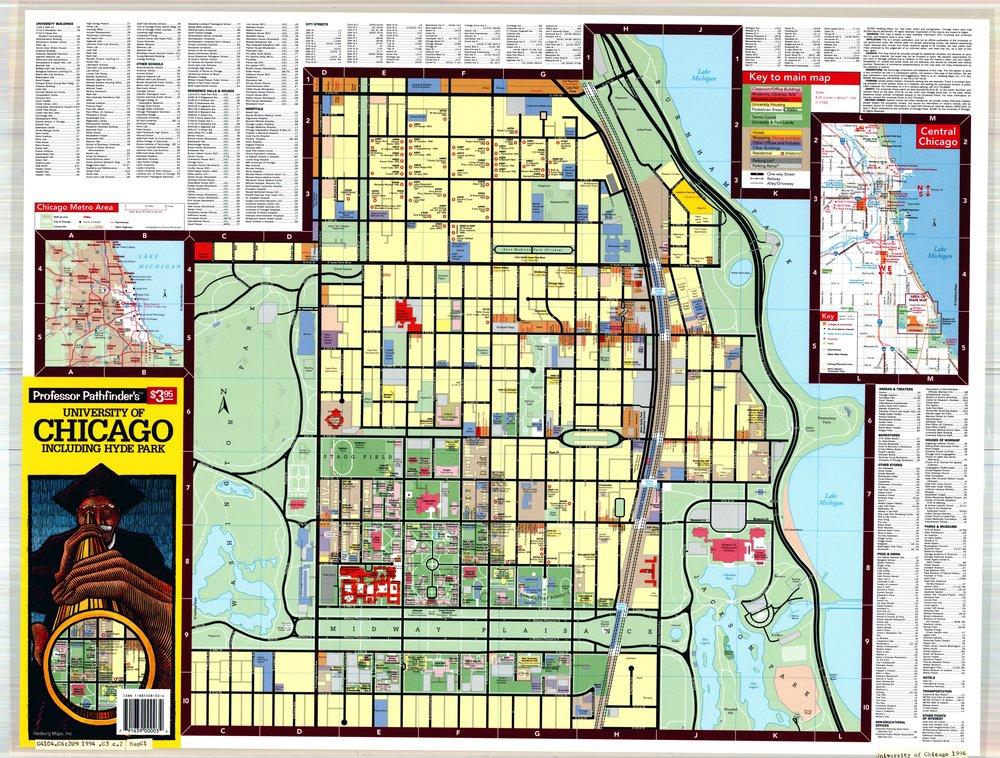 Campus Map, 1994