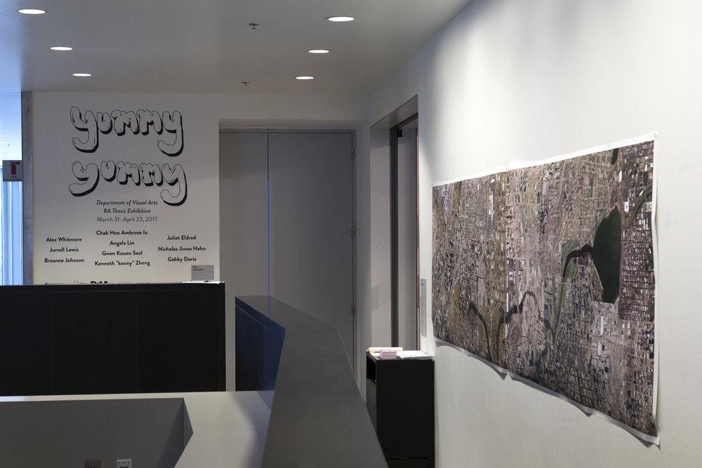 Outer Wall (installation view)  Photo courtesy of Nabiha Khan