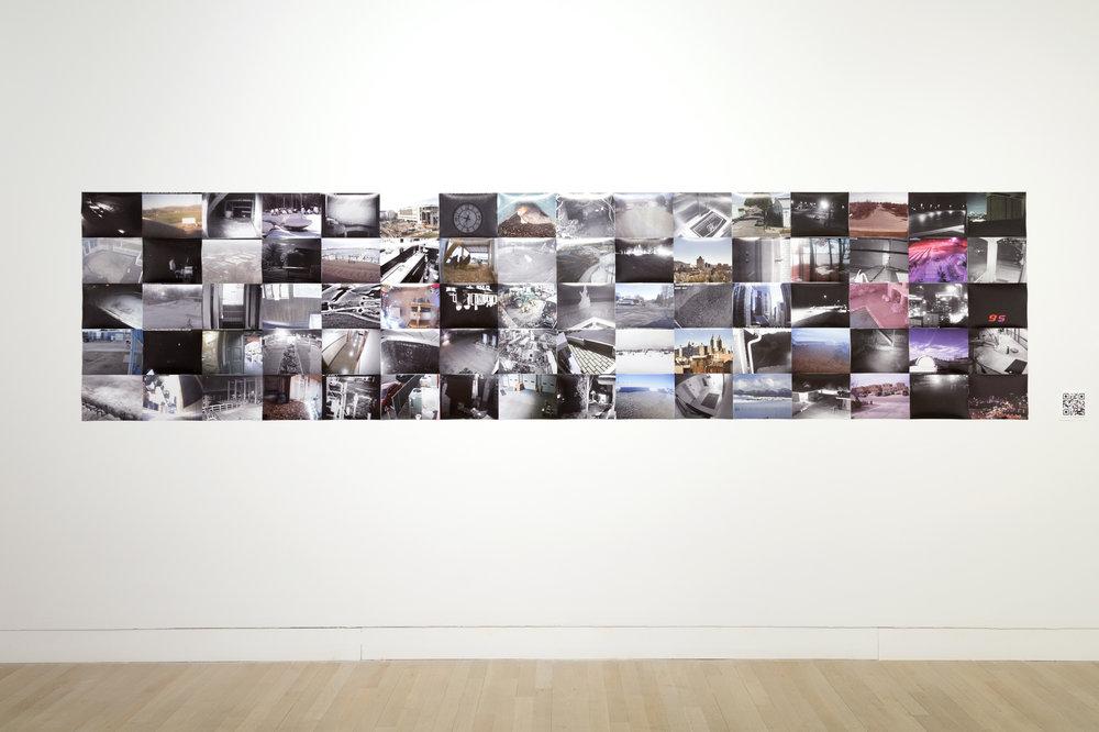 Inner Wall (installation view)  Photo courtesy of Nabiha Khan