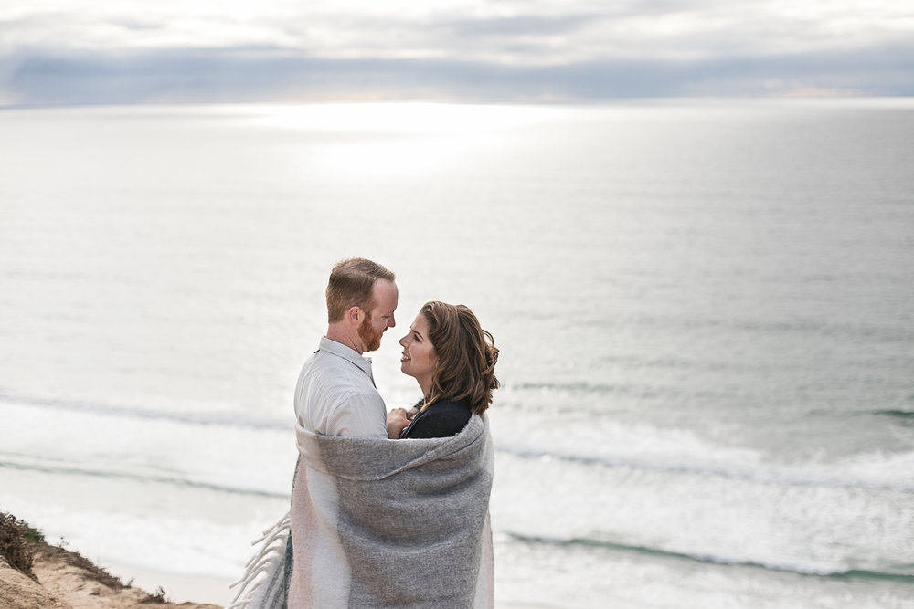 Sarah and Matt's Torrey Pines Gliderport and Scripps Pier Engagement Session 2018-3.jpg
