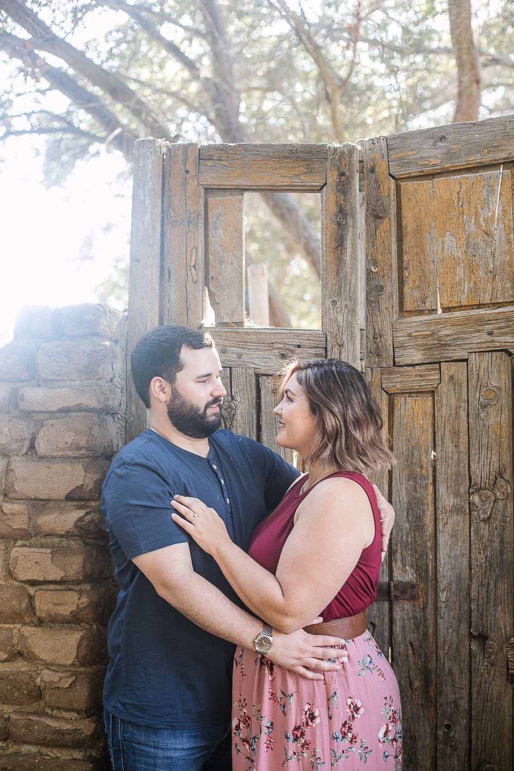 Kathryn and Dustins Myrtle Creek Botanical Gardens Fallbrook Engagement Session-7.jpg