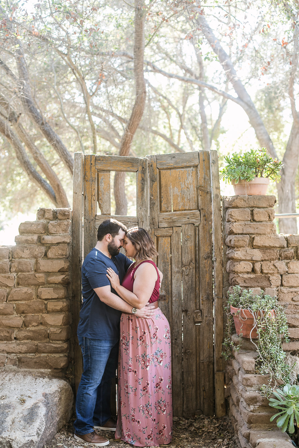 Kathryn and Dustins Myrtle Creek Botanical Gardens Fallbrook Engagement Session-8.jpg