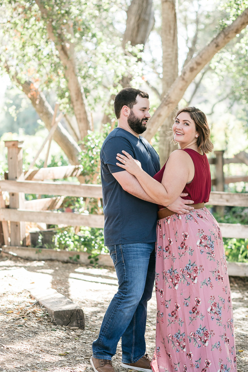 Kathryn and Dustins Myrtle Creek Botanical Gardens Fallbrook Engagement Session-11.jpg