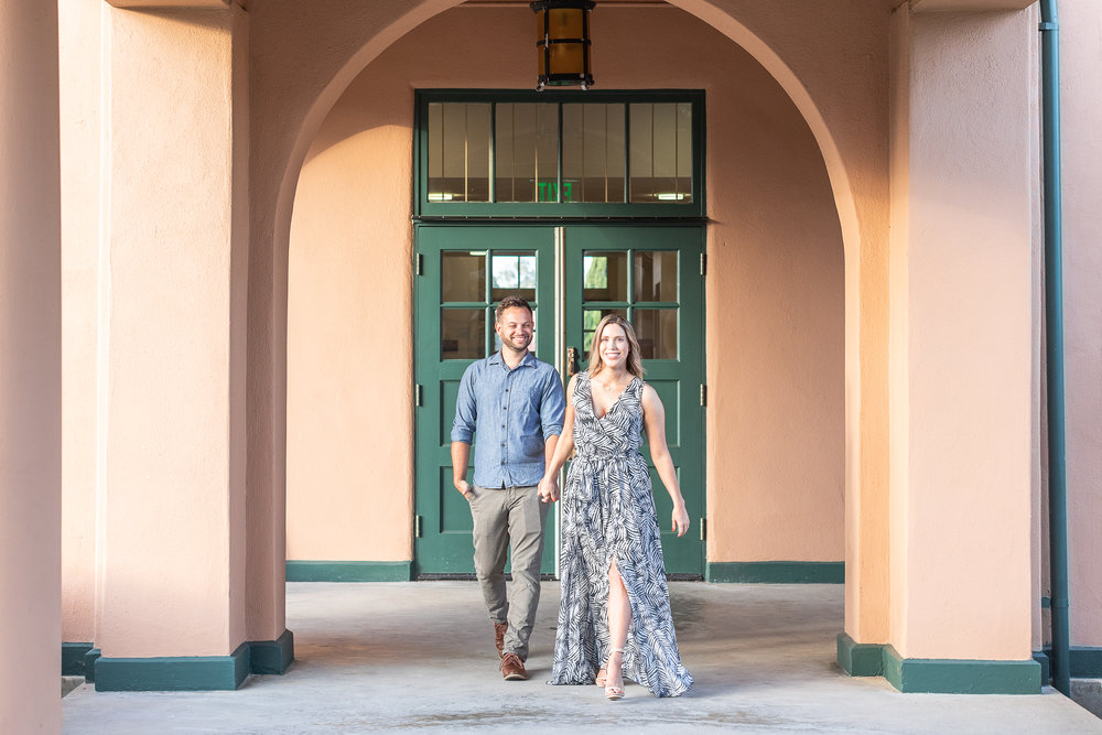 Emily and Justin's Liberty Station Soda and Swine Engagement Session-29.jpg