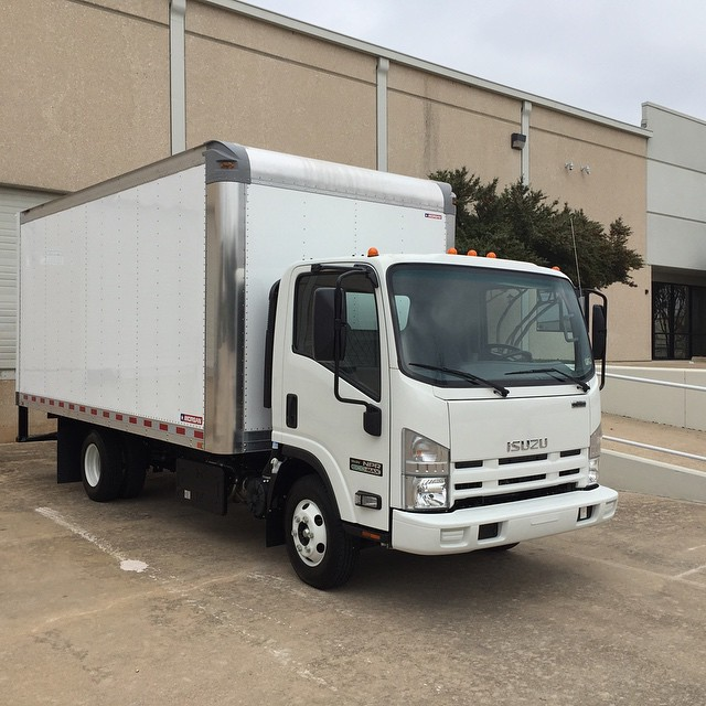Isuzu ecoboost low emission truck for R2sector onsites!