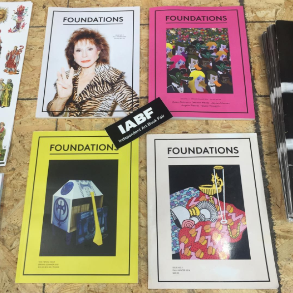Foundations at the Independent Art Book Fair