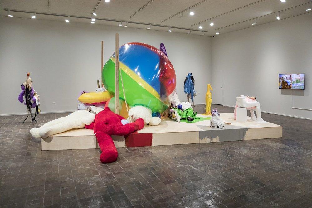 Katya Grokhovsky, System Failure, (2018), Mixed media installation,photo by Paul Pearson