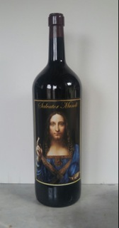 Real Salvatore Mundi, 5 liter bottle red wine (2018)