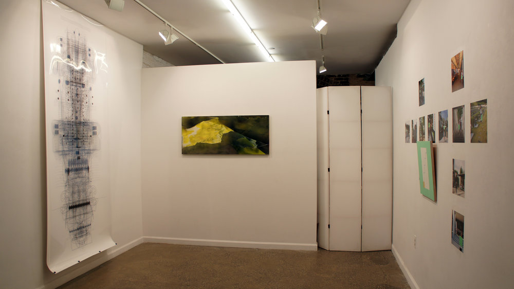 Installation view of Peaceable Kingdom
