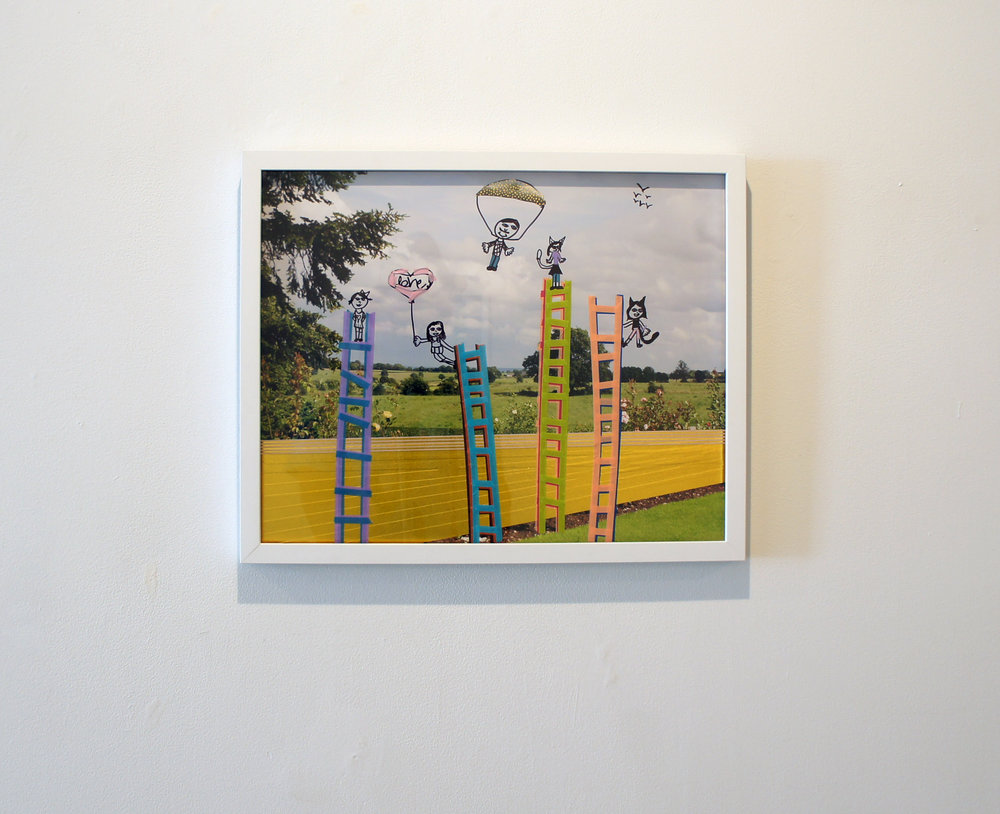 Michelle Westmark Wingard, Allie Wingard, and Naomi Wingard, We Will Build Ladders 8 (2016)