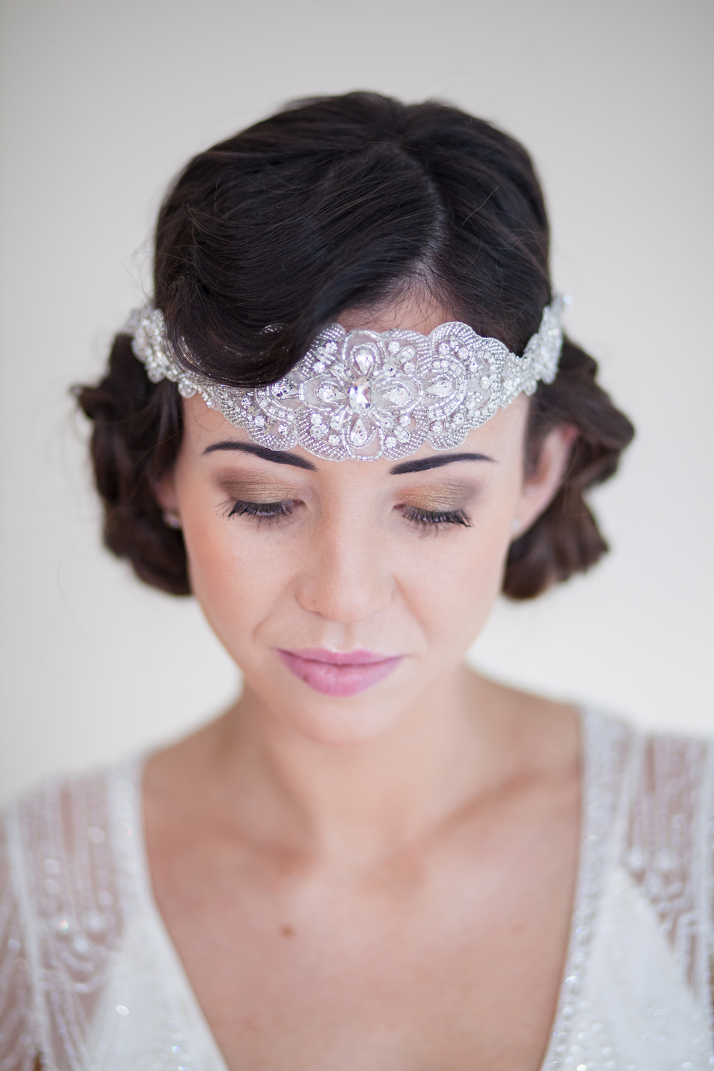 1920's Faux Bob with Headpiece