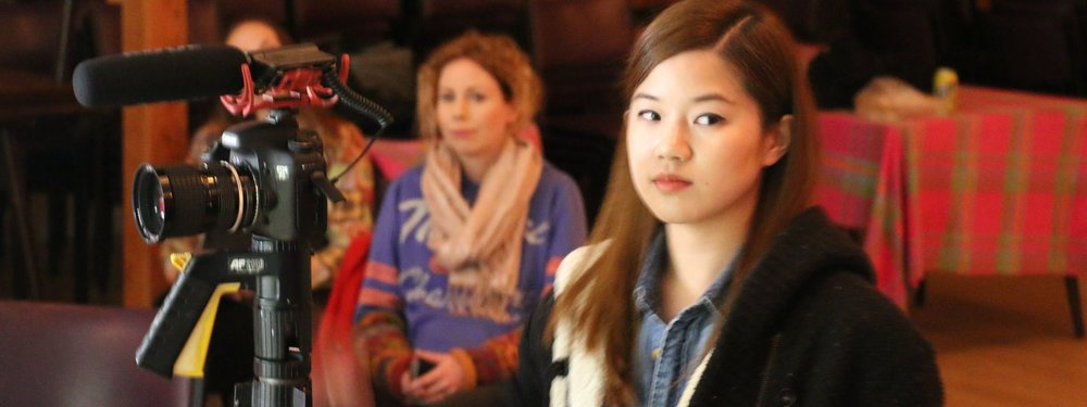 Bridget Wong - actress in class