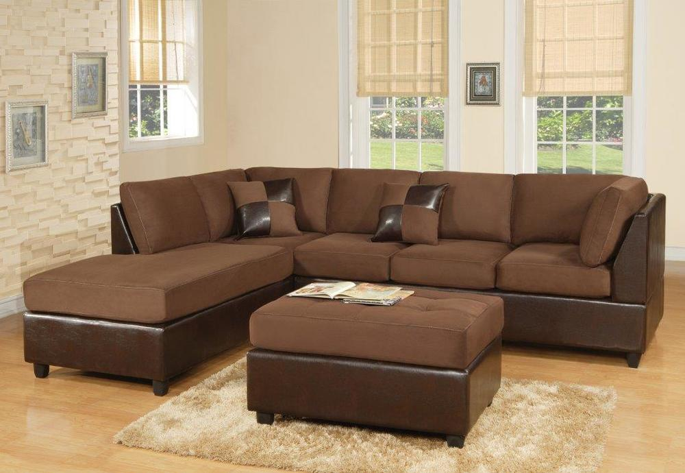 Sectional $488! BrownBlackRed or Tan.jpg : black and brown sectional - Sectionals, Sofas & Couches