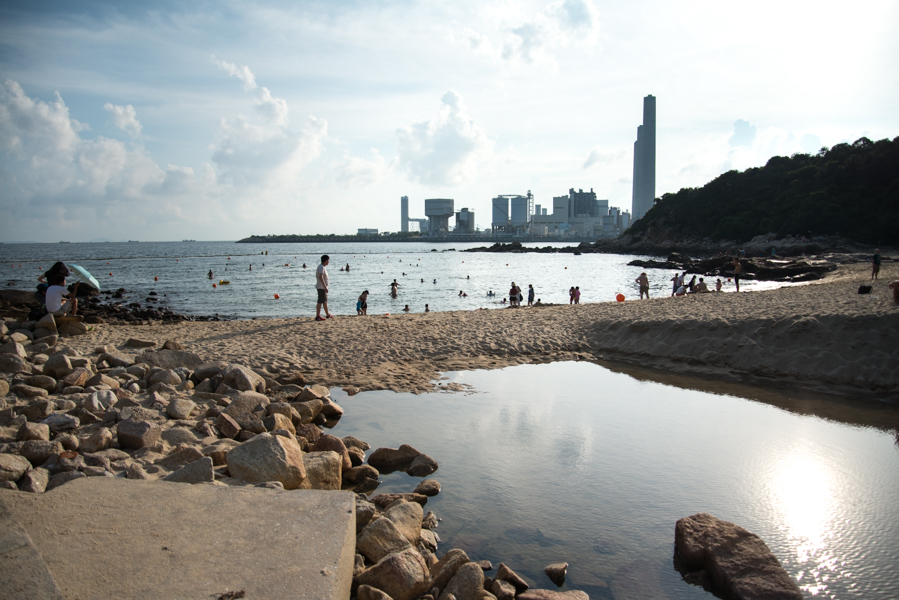 Sights from Lamma Island Beach
