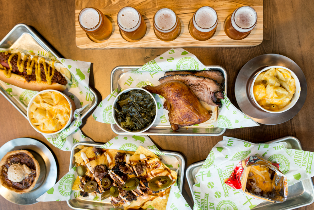 Terrapin Taproom and Fox Brothers BBQ