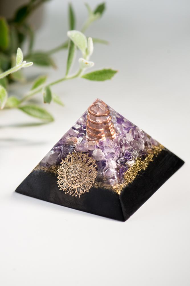 Third Eye Chakra and EMF Protection Pyramid