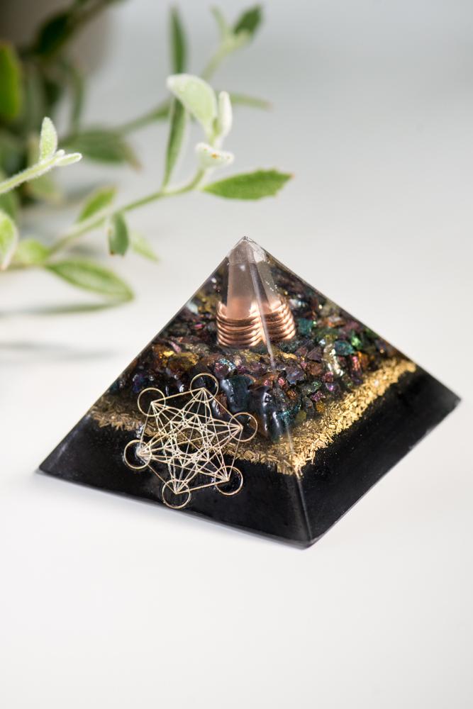 Creativity and EMF Protection Pyramid